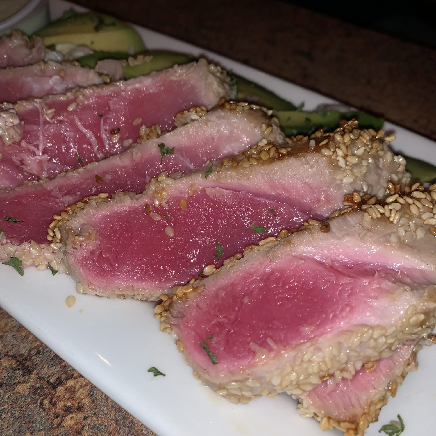 Sesame Seared Ahi Tuna