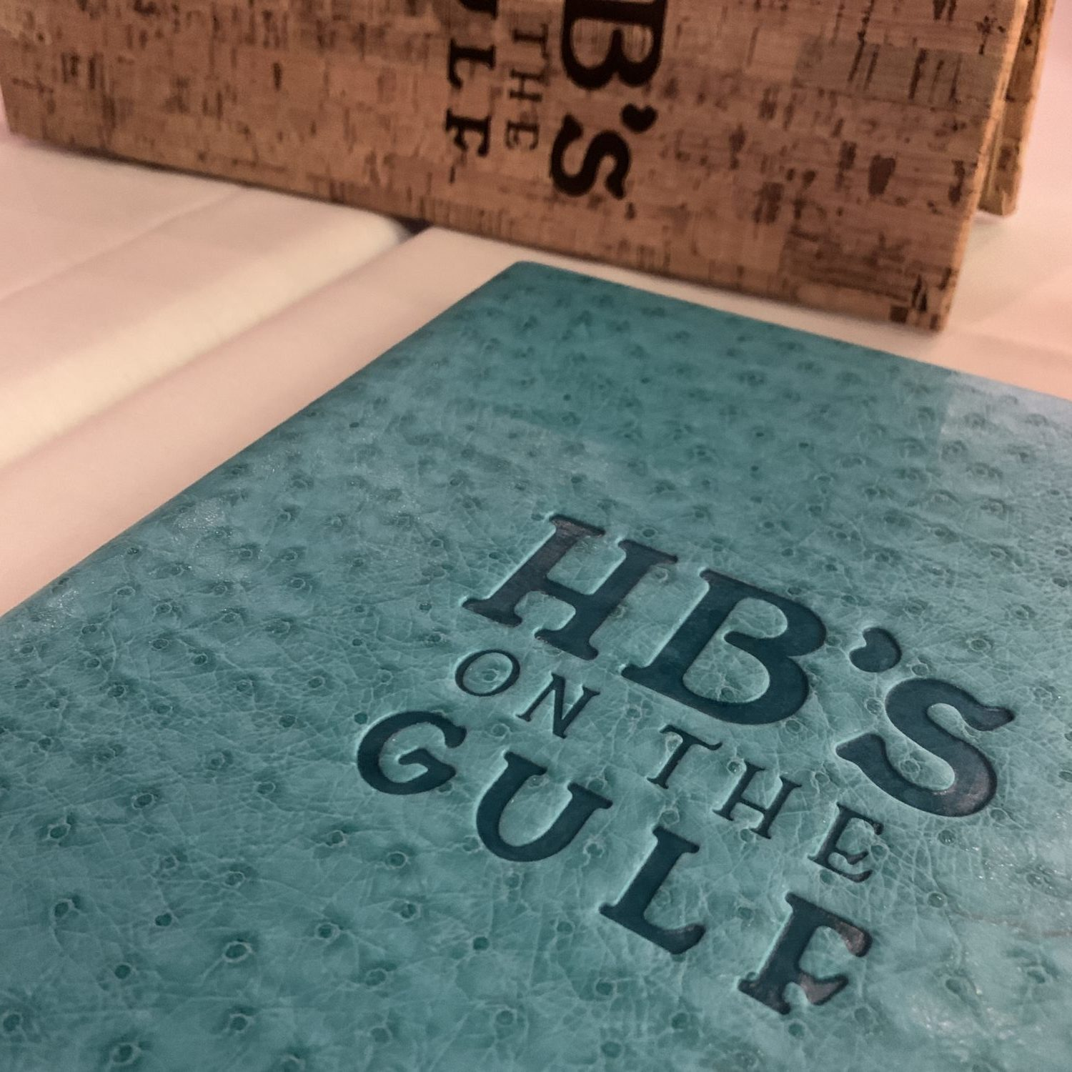 HB's on the Gulf Menu
