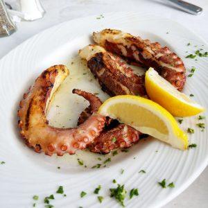 Hellas grilled octopus tarpon springs